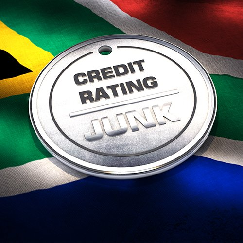 Moody's Downgrades South Africa to Junk